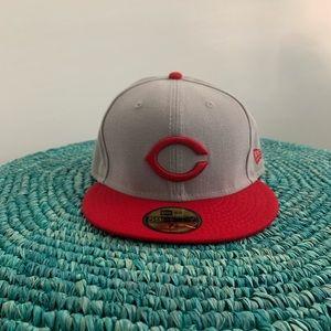 New Era 59Fifty Cincinnati Reds Cap 7 3/8